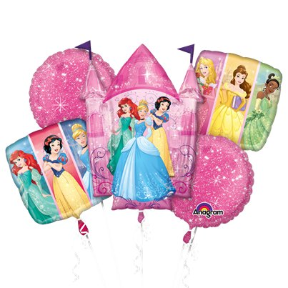 Disney Prinses Ballonboeket - Assortiment Folie