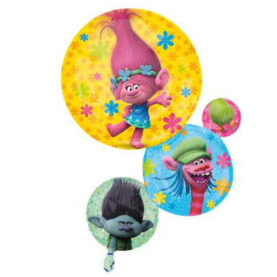Trolls SuperShape Ballon 71 cm Folie