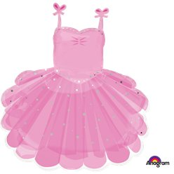 Ballerina Tutu Supershape Ballon