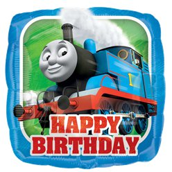 Thomas de Trein Happy Birthday Folie Ballon - 46 cm