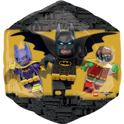 LEGO Batman XL Supershape Ballon - 56 cm Folie