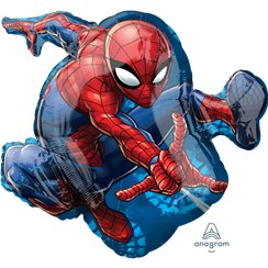 Spider-Man Supershape Folie ballon - 74 cm