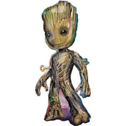 Guardians of the Galaxy Grote Supershape - 101 cm Folie Ballon