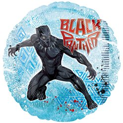 Black Panther Ballon - 46 cm Folie