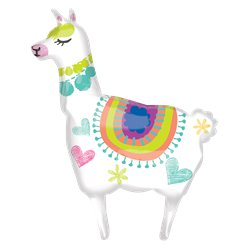 Lama Supershape Ballon - 104 cm Folie