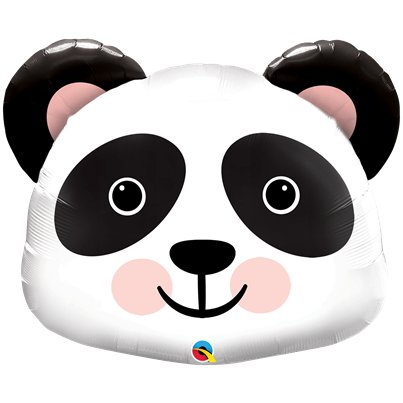 Panda Supershape Ballon - 79 cm Folie