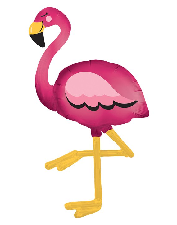 Flamingo Airwalker Ballon - 173 cm Folie