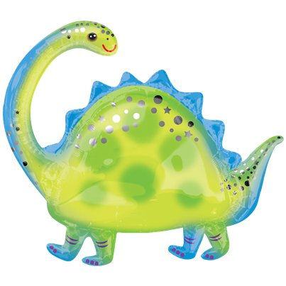 Brontosaurus Supershape Ballon - 81 cm Folie