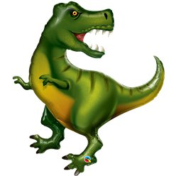 T-Rex Superhape Ballon - 107 cm Folie