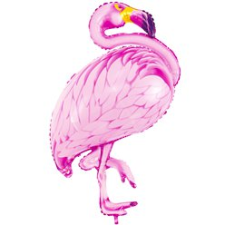 Flamingo Supershape Folie Ballon - 94 cm