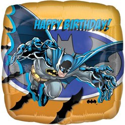 Batman Happy Birthday Ballon - 46 cm Folie