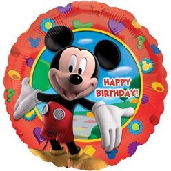 Mickey Clubhouse Happy Birthday Ballon - 46 cm Folie