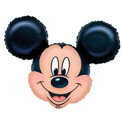 Mickey Mouse Supershape Ballon - 69 cm Folie