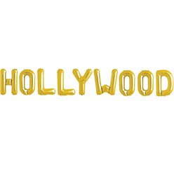 'HOLLYWOOD' Gouden Folie Ballon Kit - 41 cm