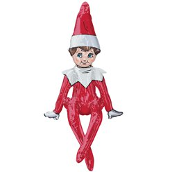 Elf op de Plank SuperShape Ballon - 74 cm Folie