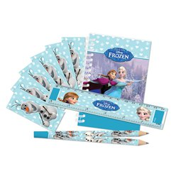 Disney Frozen Ice Skating Stationery Pack