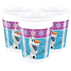 Disney Frozen Plastic Feestbekers - 200 ml