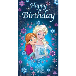 Frozen Happy Birthday Kaart