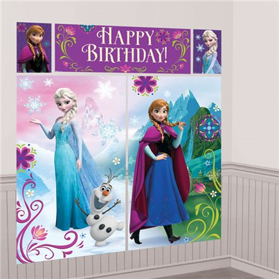 Disney Frozen Muurdecoraties