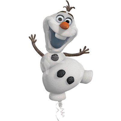 Disney Frozen Olaf Ballon - 104 cm Folie