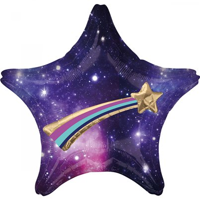 Galaxy Multi Ballon Ster Supershape Ballon - 68.5 cm Folie