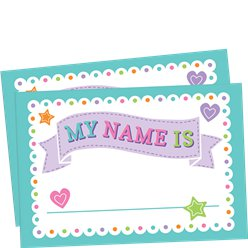 Baby Shower Naamlabels