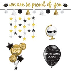 Afstuderen Decoratie Set - Premium