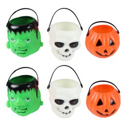 Halloween Trick or Treat Emmertjes - 6 cm