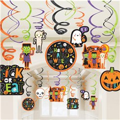 Halloween Hangende Swirl Decoraties