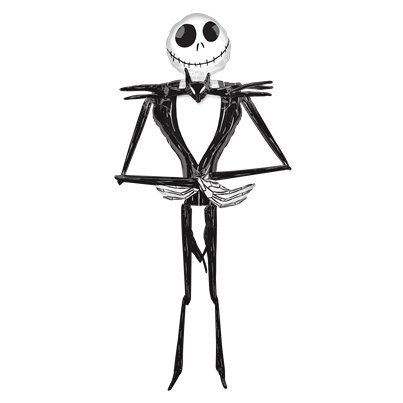 Jack Skellington Airwalker - 2.1m Folie