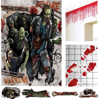 Zombie Decoratie Set