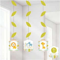 Happy Jungle Hangende Cutout Decoraties - 91 cm