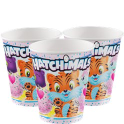 Hatchimals Papieren Bekers - 255 ml