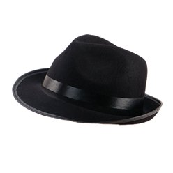 Blues Brother's Fedora Hoed