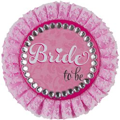 "Luxe ""Bride to Be"" Badge - 11 cm"