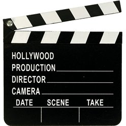 Hollywood Regisseur Klapbord