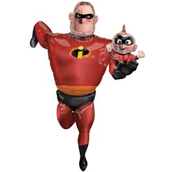 Mr Incredibles 2 Airwalker - 1.7m Folie Ballon