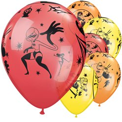 The Incredibles Ballonnen - 28 cm Latex