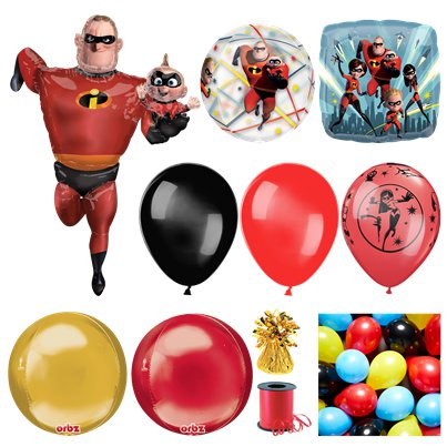 The Incredibles Deluxe Ballonset