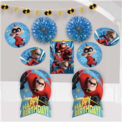 The Incredibles 2 Kamerdecoratie Set