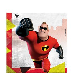 The Incredibles Papieren Servetten - 33 cm