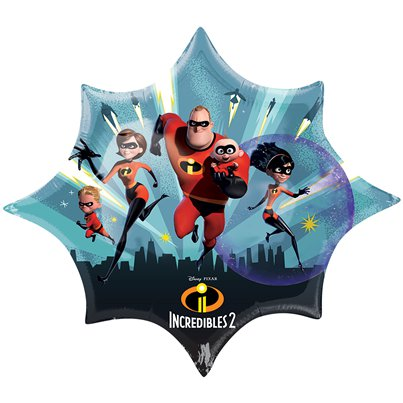The Incredibles 2 Supershape Folie Ballon - 89 cm