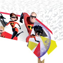 The Incredibles Plastic Tafelkleed - 1.8m x 1.2m