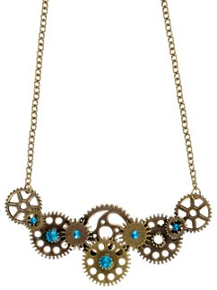 Steampunk Gear Ketting