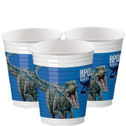 Jurassic World Feest Bekers - 200 ml Plastic Bekers