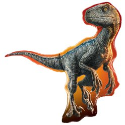 Jurassic World Raptor Ballon - 96.5 cm Folie Supershape