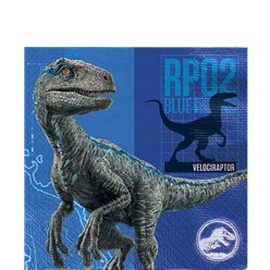 Jurassic World Lunch Servetten - 2 laags Papier