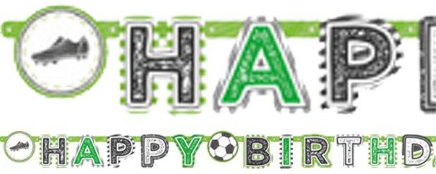 Kicker Feest 'Happy Birthday' Letter Banner - 2m