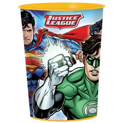 Justice League Plastic Traktatiebeker - 455 ml