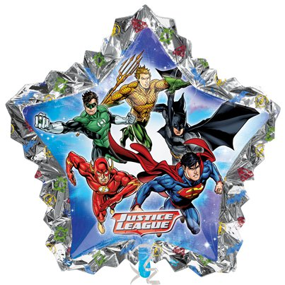 Justice League Supershape Ballon - 79 cm Folie